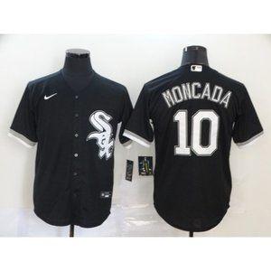 Chicago White Sox Yoan Moncada Black Jersey